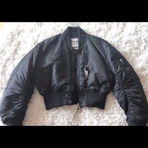 Acne studios- bomber puffer jacket